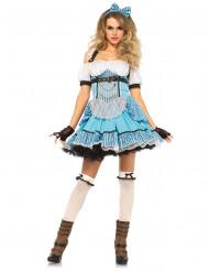 Traumhafte Verkleidung einer wunderschönen Frau aus dem Märchenland