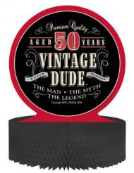 Tischaufsteller - Vintage 50. Geburtstag