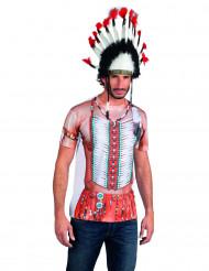 T-Shirt im Indianer-Stil für Erwachsene