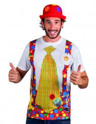 Lustiges Clown-T-Shirt für Erwachsene