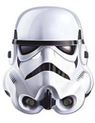 Stormtrooper™ Maske aus Hartpappe - Star Wars™