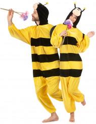 Bienenkostüm mit Flügeln für Erwachsene