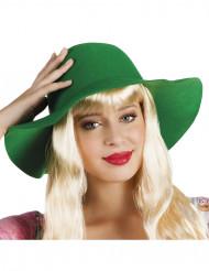Grüner Sommerhut für Damen