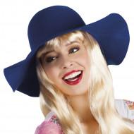 Sommerlicher Hut für Damen - dunkelblau
