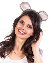 Haarreif mit Mauseohren für Erwachsene