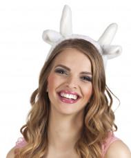 Schöner Kopfschmuck für ein Schaf-Kostüm