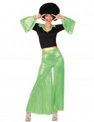 Grünes Disco-Kostüm für Damen