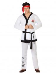 Kostüm Karatekämpfer für Männer