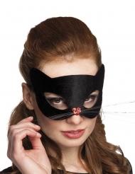 Schwarze Panthermaske für Damen