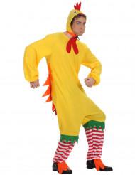 Lustiges Hahnen-Kostüm für Herren