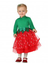 Erdbeer Kostüm für Mädchen