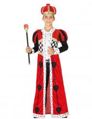 Herzkönig Kostüm für Jungen
