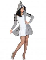 Hai-Kostüm für Damen