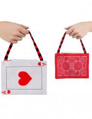Handtasche aus dem Wunderland Spielkarten