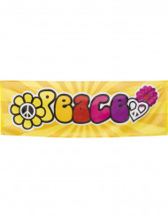 Hippie Peace Banner