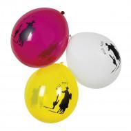 6 Western Luftballons