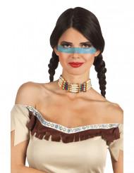 Halsschmuck einer Indianerin