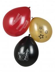 6 VIP Luftballons