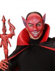 Roter Dämon Maske für Erwachsene