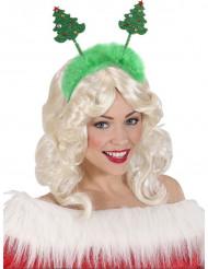 Haarreifen mit Weihnachtsbäumen