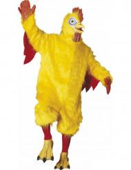 Maskottchen-Kostüm Huhn für Erwachsene