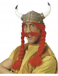 Gallier-Helm mit Schnurrbart für Erwachsene