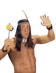 Indianer Armbänder mit Glocken für Erwachsenen