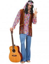 Psychedelische Hippie-Verkleidung für Männer