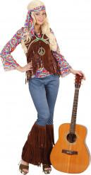 Psychedelisches Hippie-Kostüm für Frauen