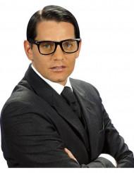 Schwarze Brille Retro für Erwachsene