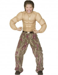 Kostüm muskulöser Oberkörper für Kinder