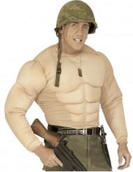 Falscher Männer-Torso mit vielen Muskeln