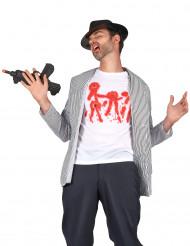 T-Shirt mit Einschusslöchern für Herren