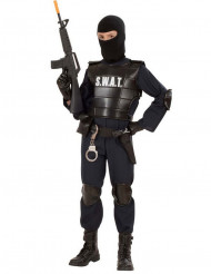 Polizei Offizier S.W.A.T. Kostüm für Kinder