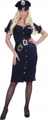 Polizistin-Kostüm für Frauen