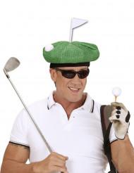 Grüne Golfermütze für Erwachsene