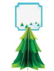 4 Platzschilder Weihnachten