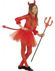Kleiner roter Teufel Halloween Ballettröckchen Kostüm für Mädchen