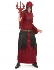 Rotes Teufelsgraf-Halloweenkostüm für Männer