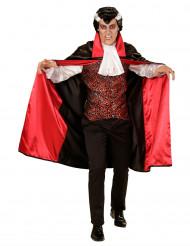 Halloween Vampir-Kostüm für Herren schwarz-rot-weiss