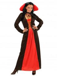 Gräfin-Kostüm in schwarz-rot