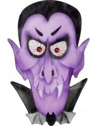 Vampir-Deko violett - Halloween