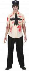 Halloween-Kostüm eines Zombie-Polizisten für Herren
