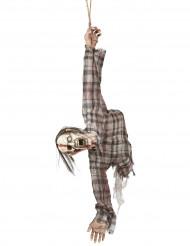 Zombie Oberkörper Dekoration für Halloween 92cm