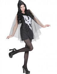 Halloween Kostüm Geist einer schreienden Frau