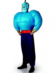 Dschinni-Kostüm des offiziellen Aladdin-Films mit aufblasbarem Oberkörper für Erwachsene