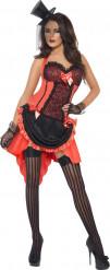 Kostüm sexy Tänzerin für Damen in Rot