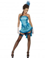 Sexy Verkleidung als Saloon-Tänzerin