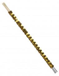 Zigarettenhalter mit goldenen Pailletten