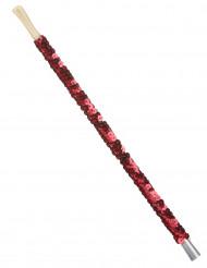 Zigarettenhalter mit roten Pailletten